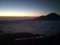 Sunrise trekking at Mount Batur, Bali