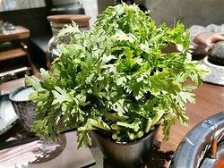 新鮮翠綠嘅蔬菜