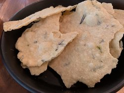 House-Made Gluten Free Crackers
