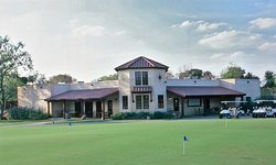 The Republic Golf Club. Open to public play. Our clubhouse.
