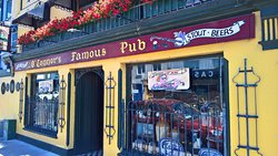 O'Connors Famous Pub in Salthill, Galway, home to my famous Fireside Tour. Groups only. Ed Sheeran made this bar famous when he recorded part of the Galway Girl music video here.