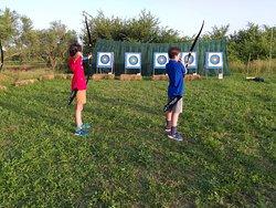 having fun at Apollon Zante Archery!!!