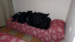 No room to place baggage. So used the bed.