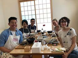 Family cooking class with chef YUCa