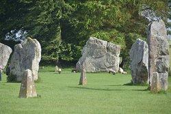 Megalieten bij Avebury
