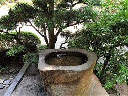Water basin made of stone