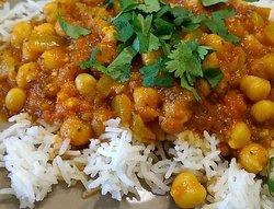 Homemade Vegetarian Chickpea Curry