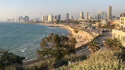 Shores of Tel Aviv viewed from Old Jaffa (Day)