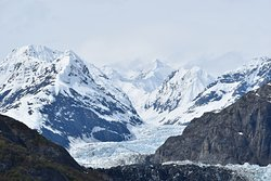 One of the may glaciers in Glacier Bay