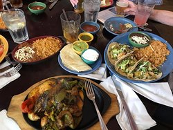 Delicious Mexican food and lovely surroundings