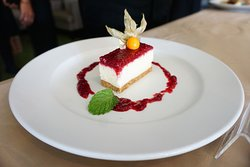 Raspberry Cheese Cake  is one of favorite dissert for june