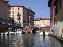 Livorno canal tour