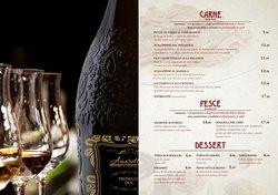 Carta Amaretto Trattoria Cocktail Bar