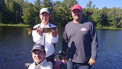 A great outing with Tom Leahy's Guide Service !
