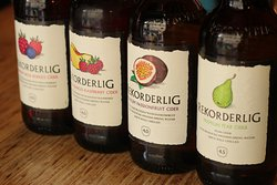 Some of our fruit ciders