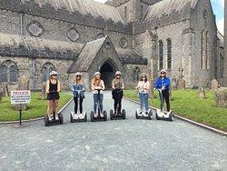 Segway Tours Kilkenny Ireland.