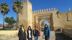 Familia de Marian en Marruecos.