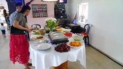 Dessert-Auswahl bei Hochzeits-Event im Restaurant Lachmatt