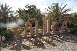 A destination hotel at the edge of the Sahara