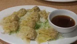 Steamed wontons entree no 7