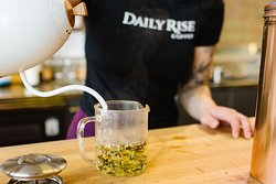 Teas for Twos-days at #DailyRiseDowntown!  Enjoy something on tap, or freshly brewed and of course buy one get one FREE on all teas!