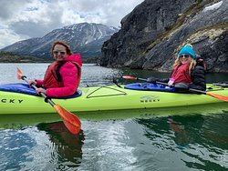 Alpine Lake Kayak and White Pass Railway Adventure