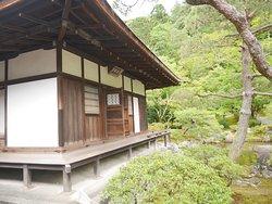銀閣寺と庭園