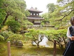 銀閣寺庭園