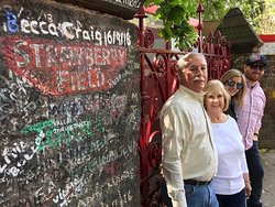At Strawberry Fields