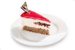 Topfen-Himbeer-Torte
