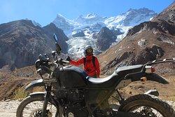 Highest peak in Zanskar Range called Nun Kun . Twin Peaks at 7090 meters and 7135 meters.