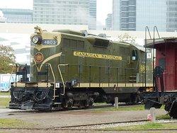 An impressively large Toronto Railway museum exhibit!