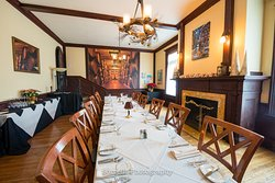 Private Event and Meeting space in our Parlor for up to 24 people
