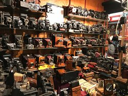 And next to this was a booth of old phones.  And old sewing machines and old type writers and... so many great antiques.