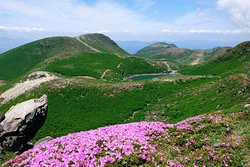 中岳から久住山、御池