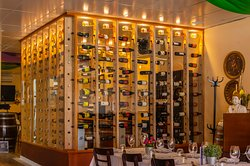 Wine room added this year and expanding our list rapidly