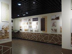 展示館の内部。