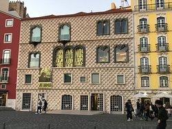 A Jose Saramago Museu in the building