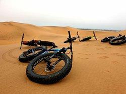 Fat bike tour durch die Dünen Swakopmund
