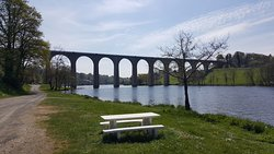 Local viaduct over the vienne