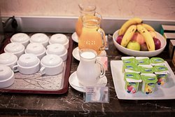 Our breakfast buffet offers everything you need to have a good start into the day.