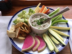 Smoked blue fish pate - excellent!
