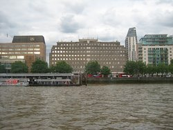 The old Fire Brigade HQ from the river
