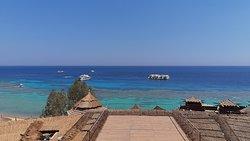 Panorama della spiaggia