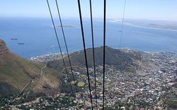 The views across the City and out to Robben Island are stunning