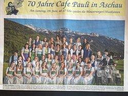 """Sympathische Wirtsfamilie - sympathisches """" Café Pauli Team """" !"""