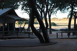 Lodge de ensueño en el gigante parque de Hwange