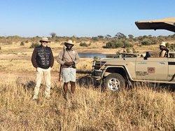 Safari a pie con Robert