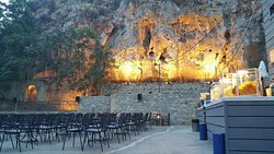 Open air cinema at Nafplio