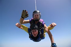 This was free falling from 15,000ft for around 60 seconds